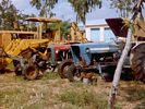 Farm Machinery Graveyard in India