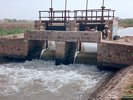 Control Structure for Irrigation Canal in Rajasthan, India