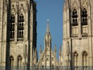 Brussels - St. Michael and St. Gudula Cathedral - Sint-Goedele - Close-Up
