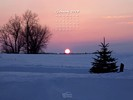 Seasons - Time of Day - Winter Sunset