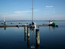 Countries - Germany - Sailboat Harbour - Town of Lassan in Western Pomerania - Vorpommern
