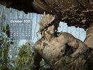 Art and Fantasy - Sculptures - Sculpture under Water Fountain - Stürmische Wogen - Dresden Neustadt - Germany