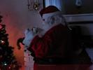 Santa Drinking Milk