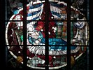 Merry Christmas - Stained Glass Window - Bremer Dom - Bremen - Germany (Partial)