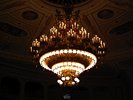 Chandelier inside the Semperoper - Semper Opera House - Theater Square - Dresden - Germany