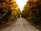 Ontario Country Road in Fall - Canada