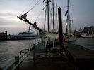 Sailboats in the Hamburg Harbour - River Elbe - Germany