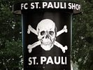 F.C. St. Pauli Sign outside F.C. St. Pauli Shop - Hamburg Soccer Club