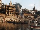 Ganges River in the City of Varanasi early in the morning
