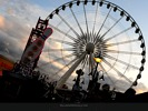 Sky Wheel At Dusk in Niagara Falls
