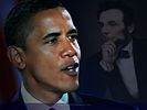 Barack Obama and Abraham Lincoln