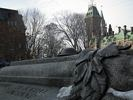 The Tomb of the Unknown Soldier - National War Memorial - Confederation Square - Ottawa - Canada (Partial)