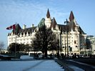 Château Laurier - View from Confederation Square - Ottawa - Canada