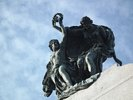Figures at Top of the National War Memorial - Confederation Square - Ottawa - Canada
