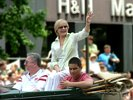 Florence Henderson in the 90th Indy 500 parade