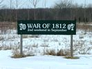 The site of the War of 1812